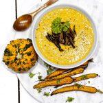 Creamy Vegan Pumpkin Soup - perfect recipe for fall!