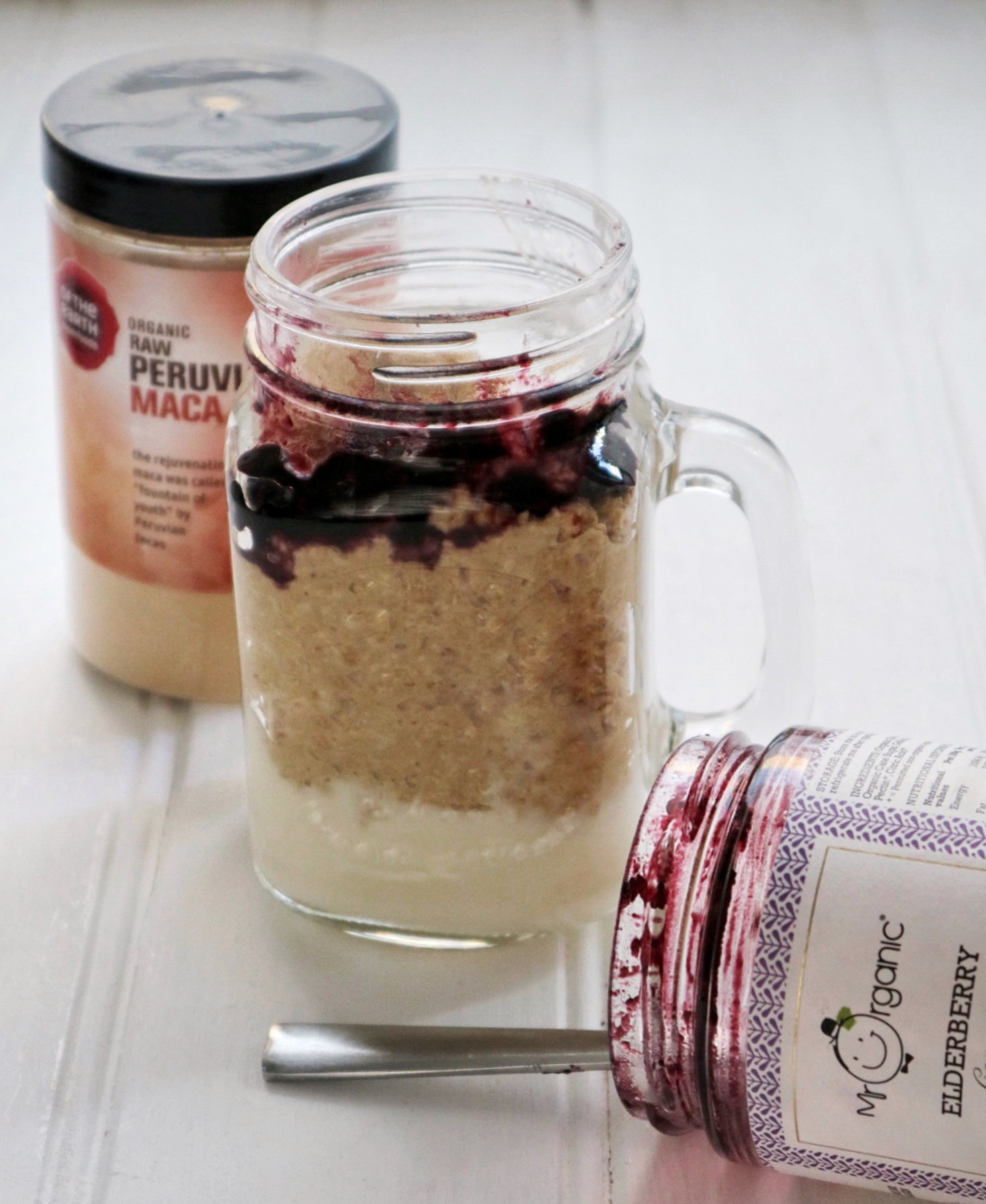 Vegan Overnight Oats Breakfast Jar