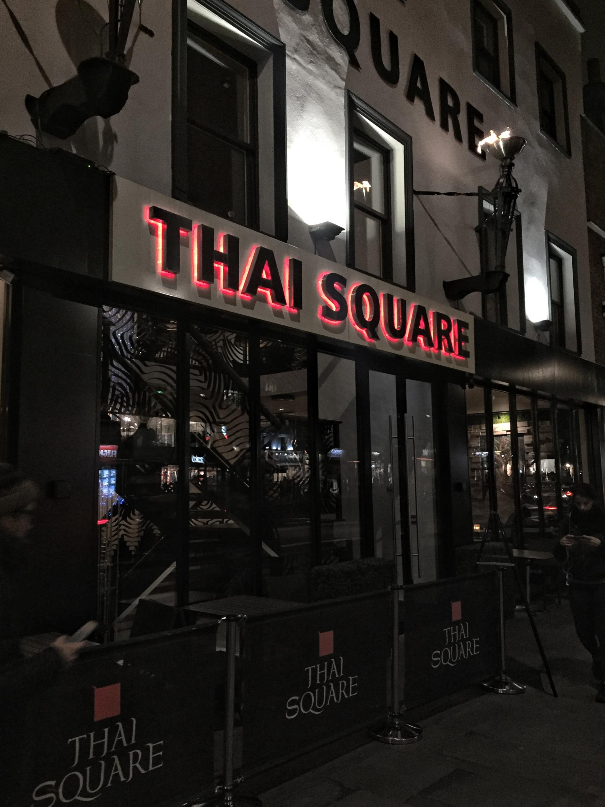 Thai Square Vegan Menu