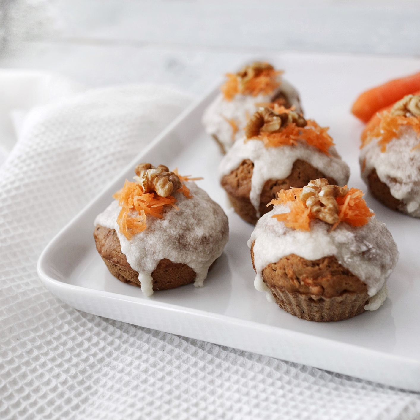 Carrot-Cake=Muffins