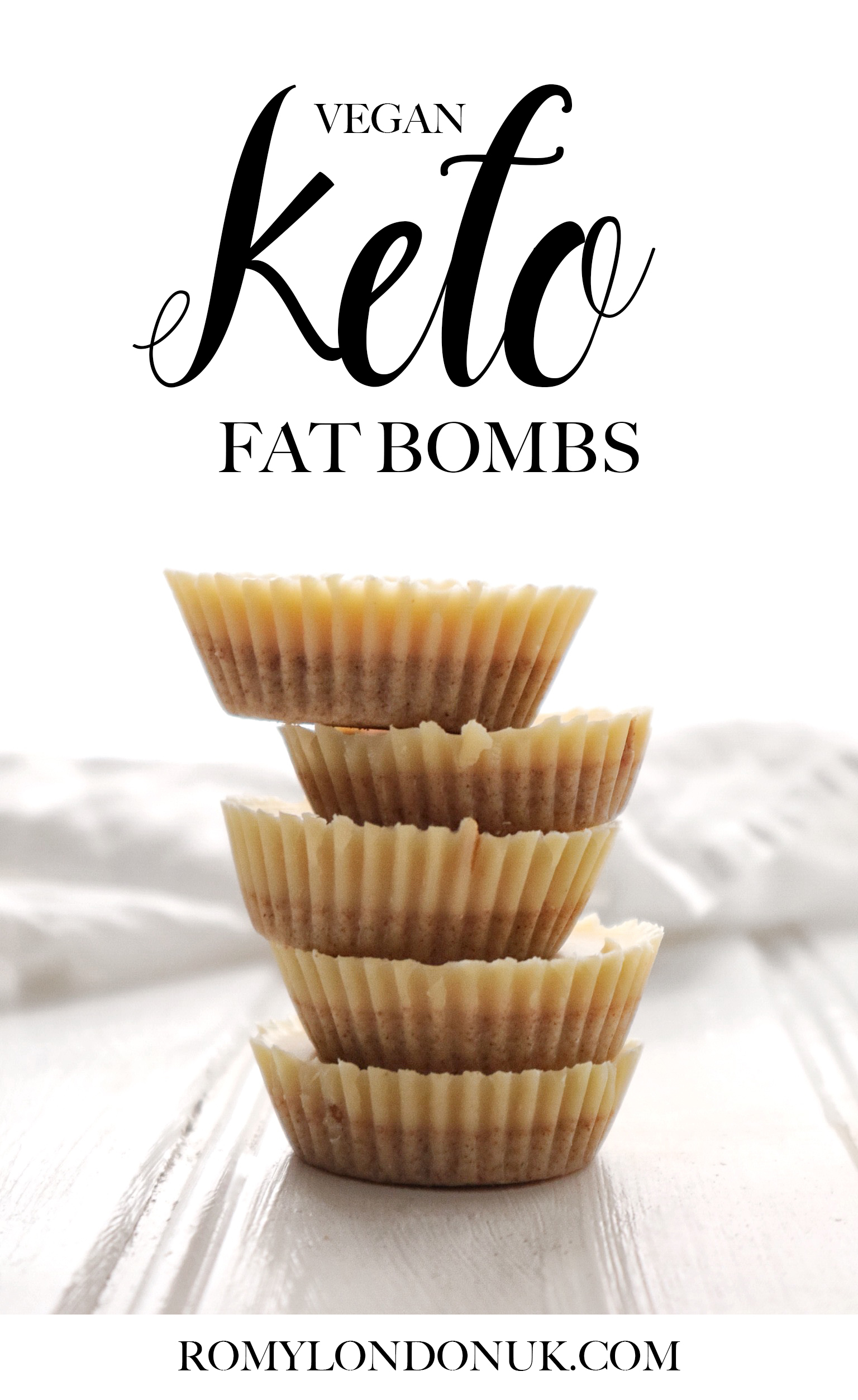 Vegan Keto Fat Bombs Recipe