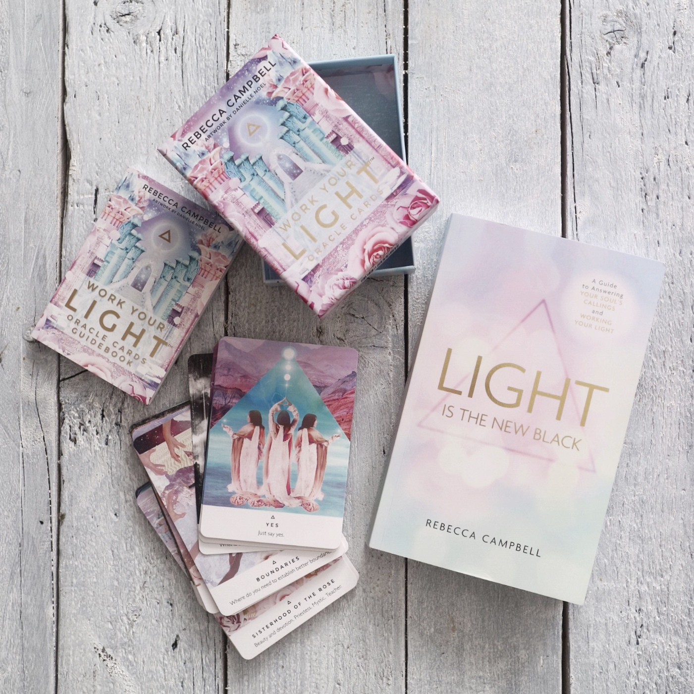 Light is the new black rebecca campbell review
