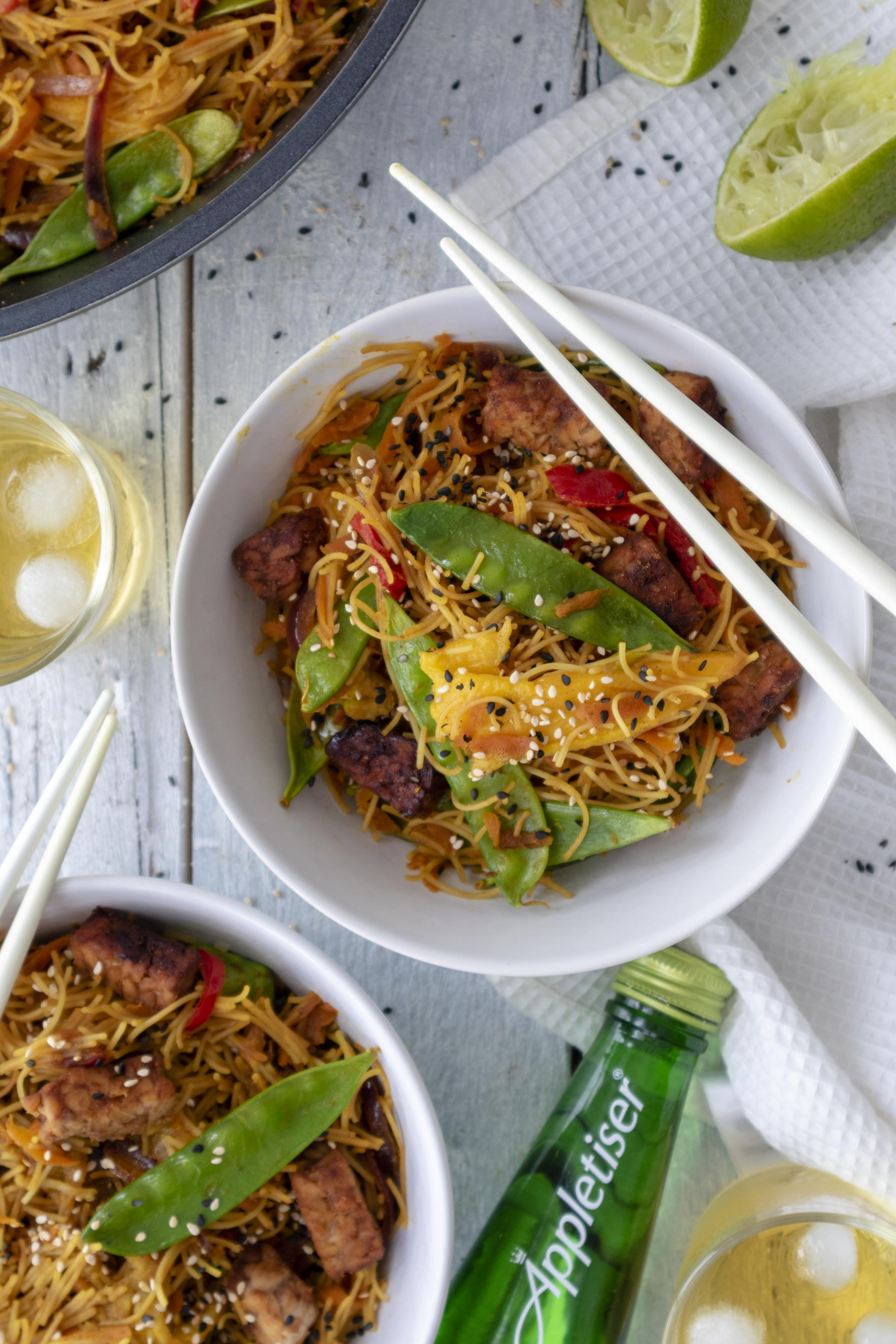 Vegan Singapore Noodles Recipe