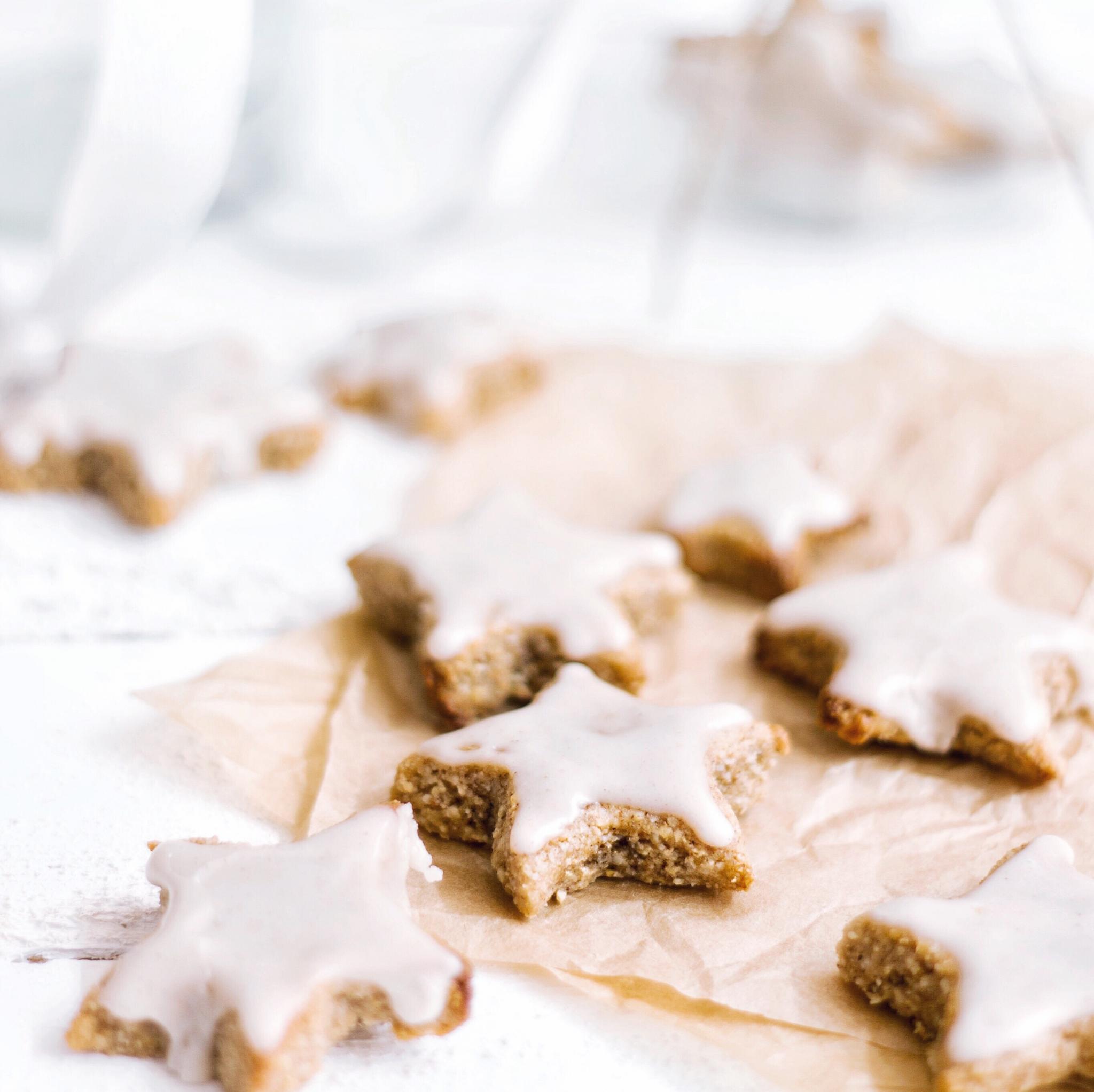 Vegan Cinnamon Stars Recipe