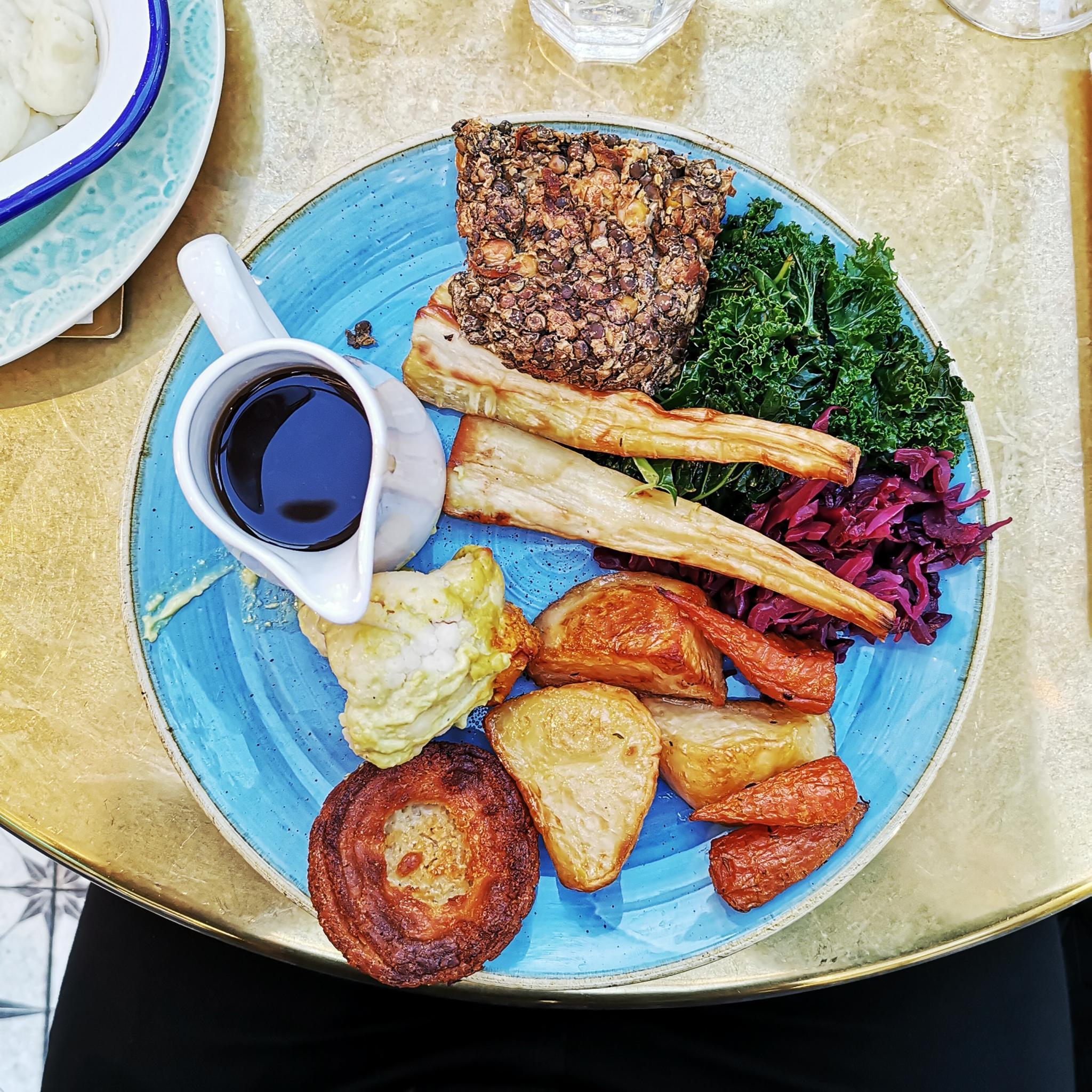 Vegan Sunday Roast in London