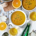Healthy Coconut & Orange Soup Recipe