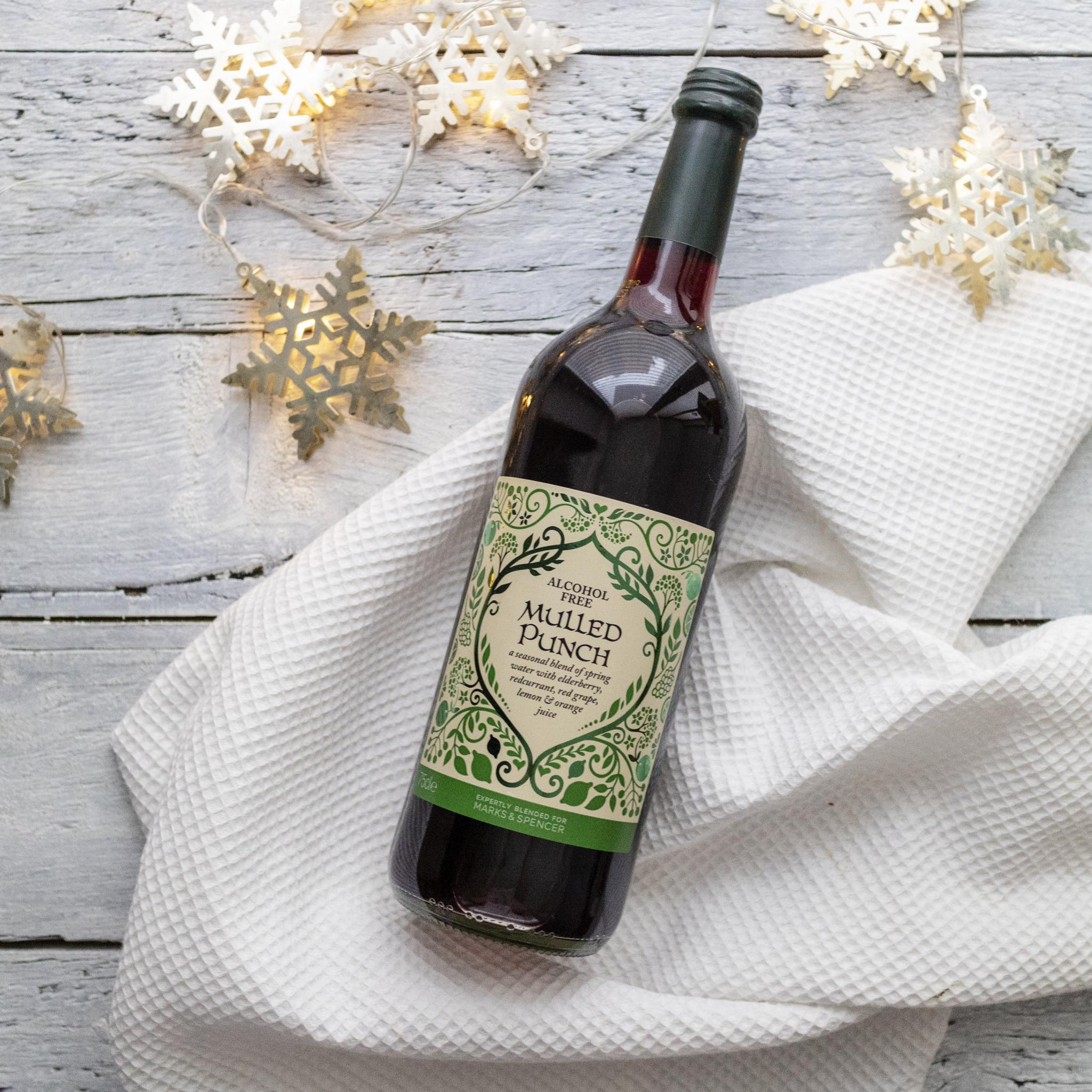 Vegan Christmas Booze Guide Festive Drinks Alcohol Free Mulled Punch M&S
