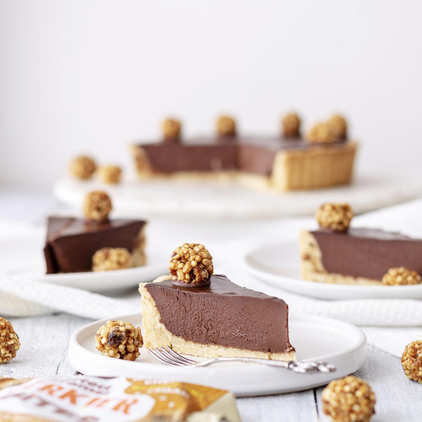 Vegan Chocolate Coffee Tart