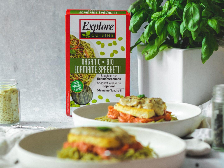 Vegan Tofu Parmigiana (High Protein)