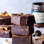 Vegan Chocolate Swirl Brownies