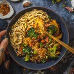 Vegan Teriyaki Sauce Bowl