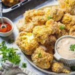 Easy Vegan Cauliflower Wings