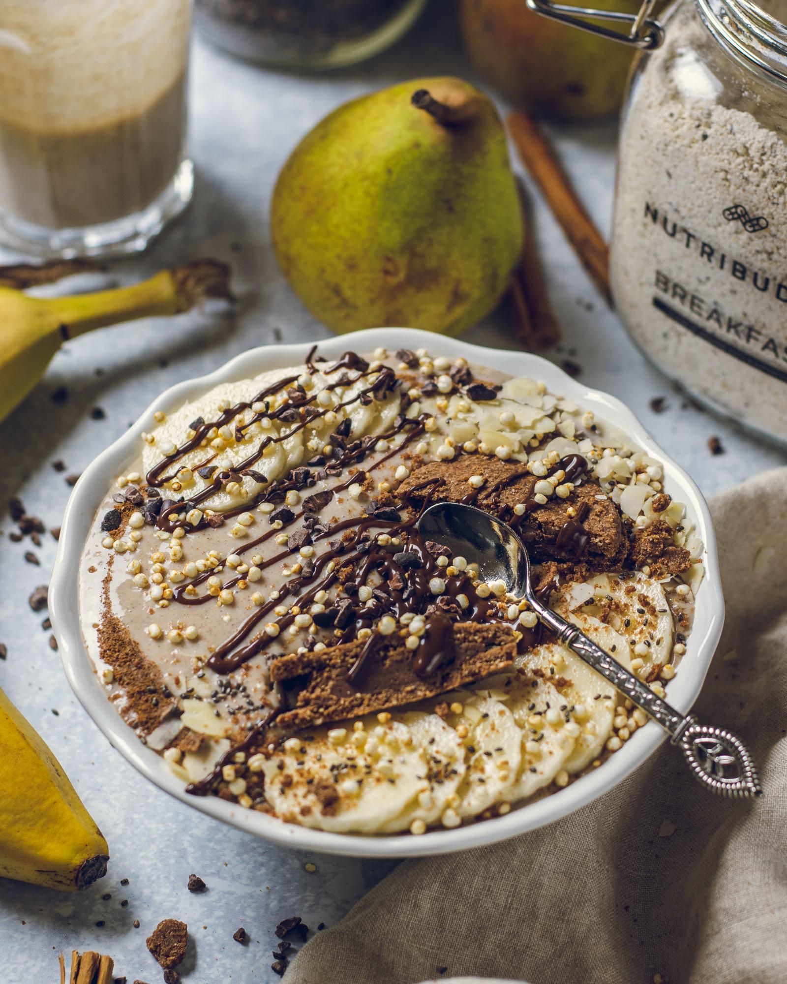 Cinnamon Pear Breakfast Smoothie