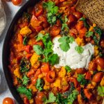 Easy Vegan Shakshuka (No Tofu)