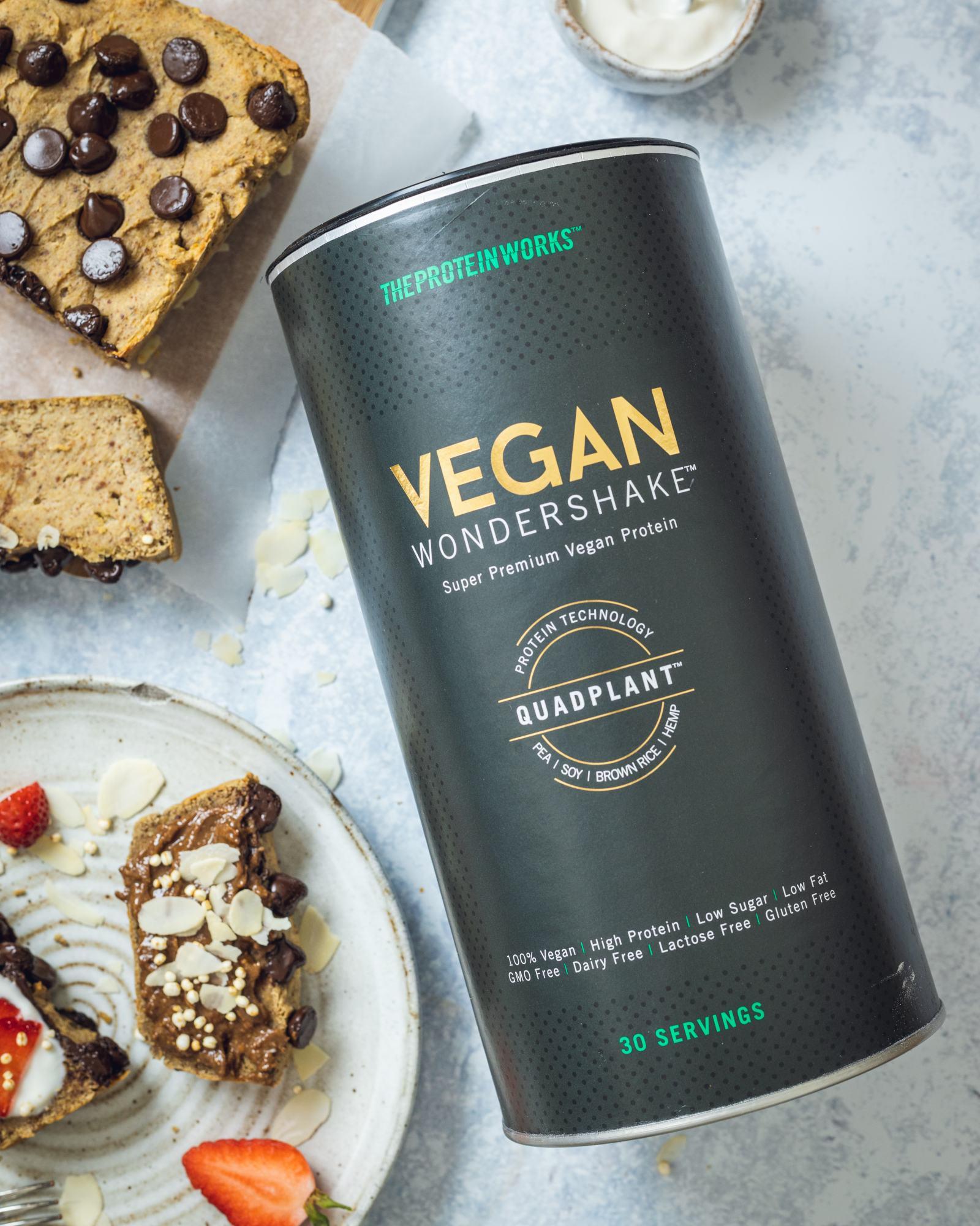 Flourless Vegan Protein Bread Recipe