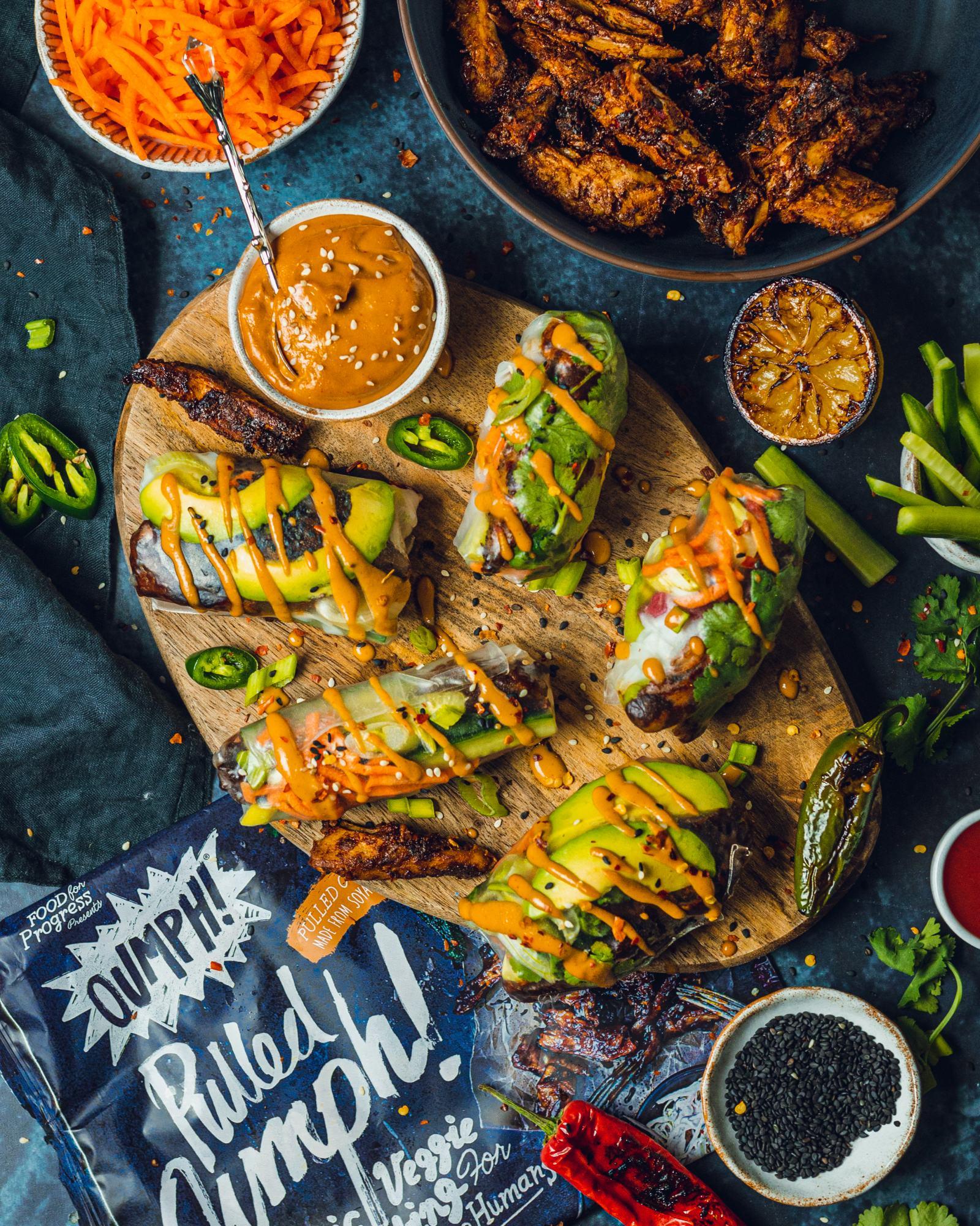 Simple Vegan Summer Rolls