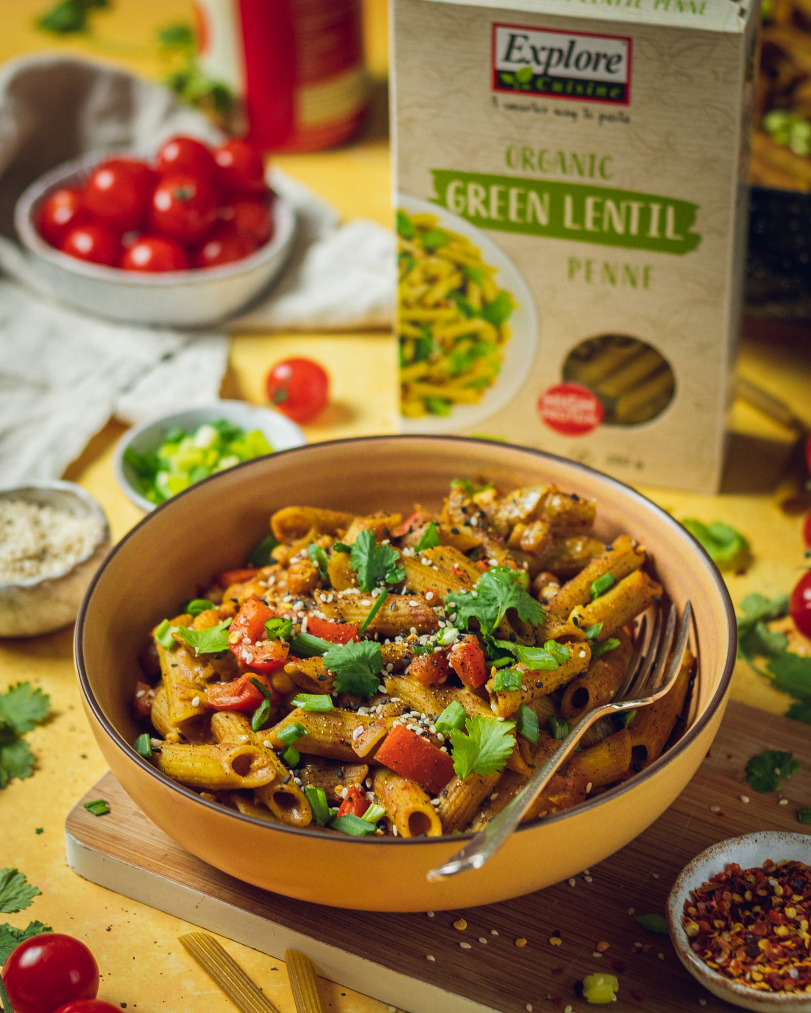 One Pot Coconut Curry Pasta