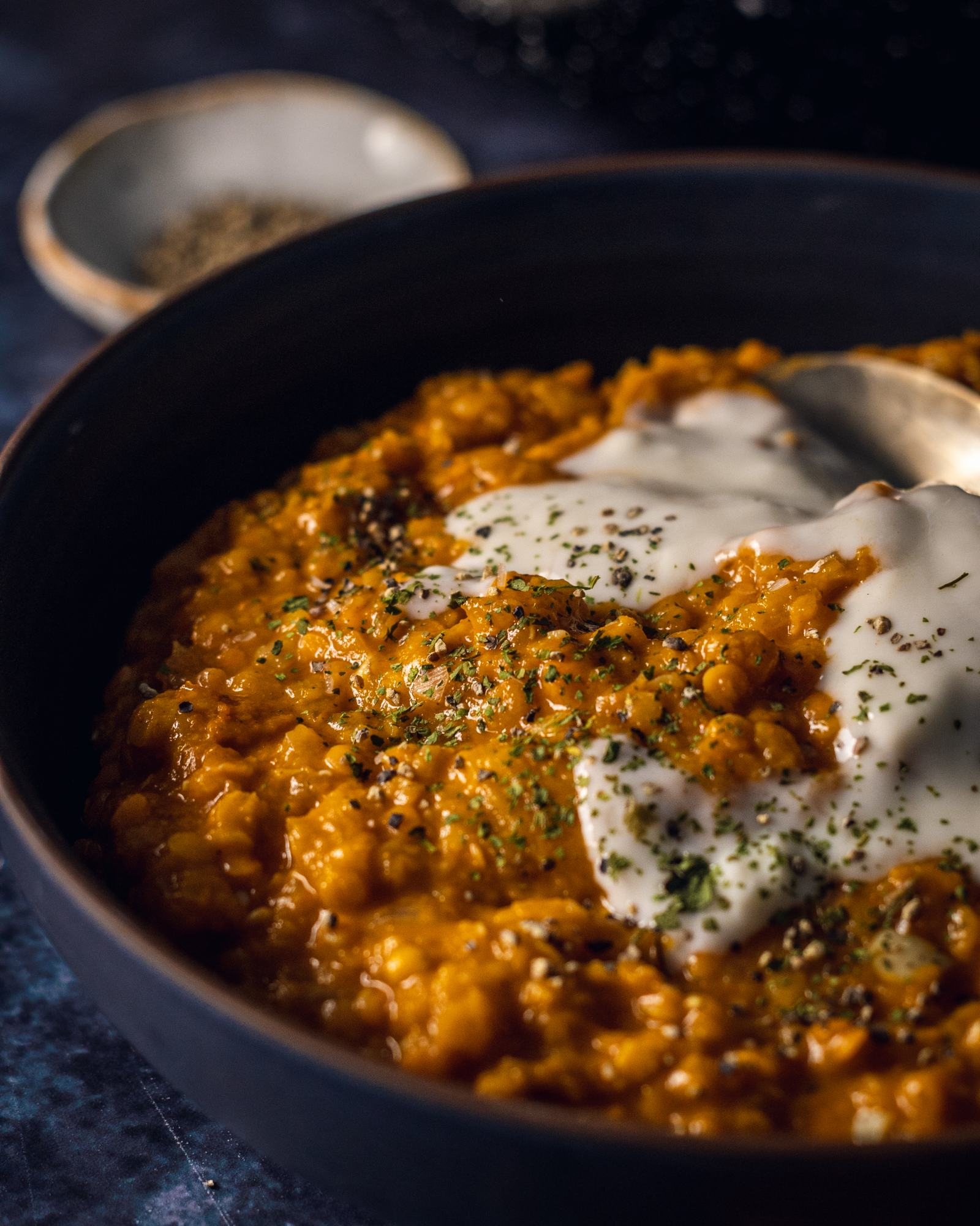 Roasted Pumpkin Red Lentil Dhal Recipe (Vegan & Gluten Free)