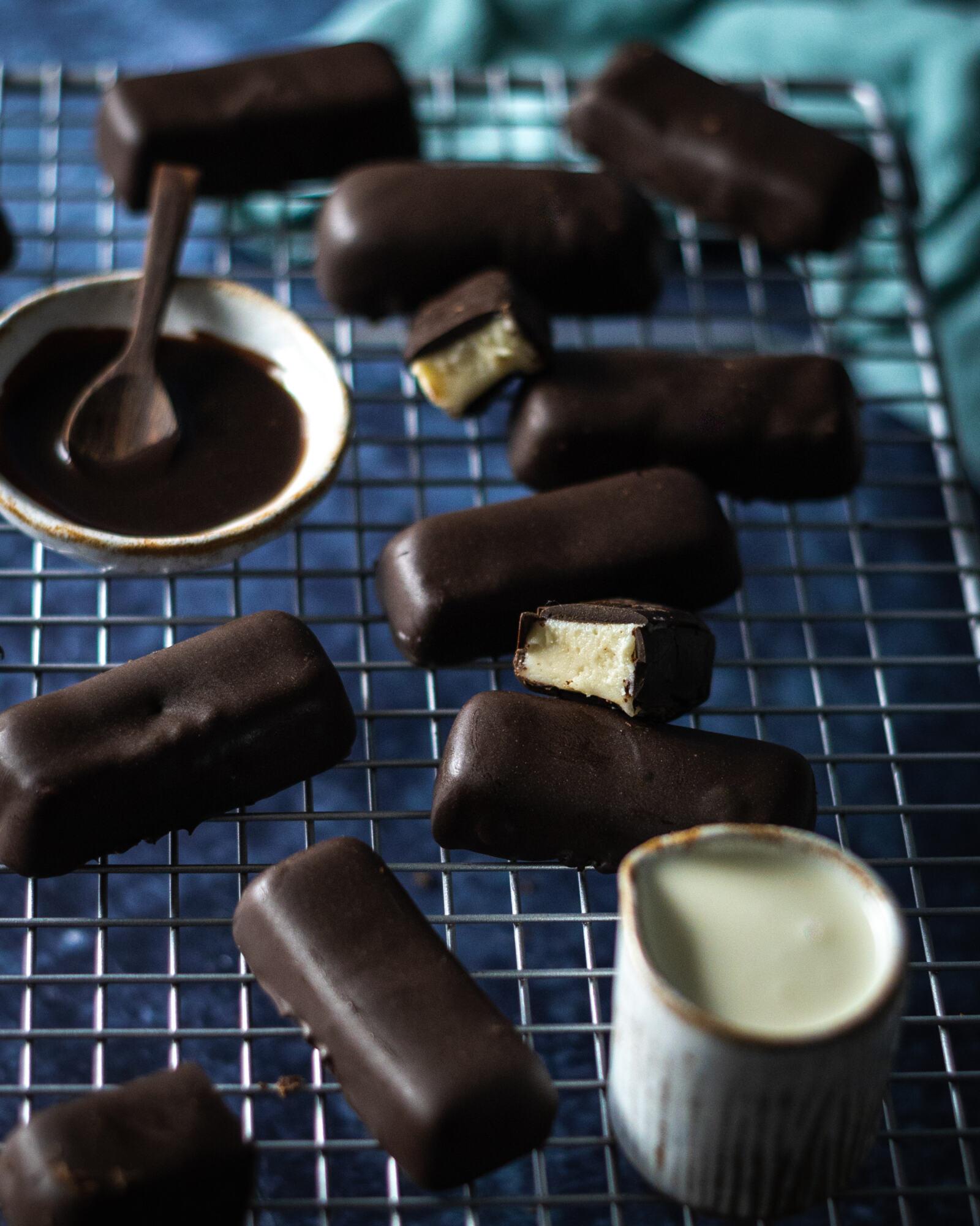Vegan Kinder Chocolate Bars